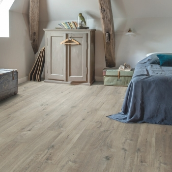 Quick-Step Livyn Pulse Cotton Oak Grey With Saw Cuts