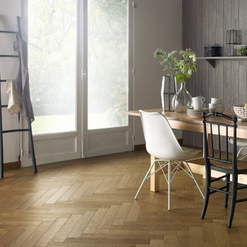 Woodland French Oak Herringbone Havana