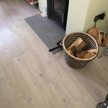 Woodland Classics French Oak Soft Grey Engineered Wood Flooring