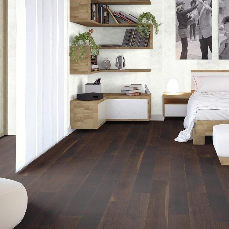 Woodland Robusta Wessex Smoked Oak 20mm Engineered Wood Flooring