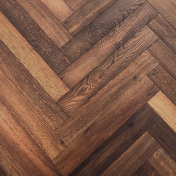 Woodland Vintage Rectory Oak Herringbone