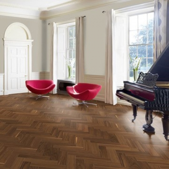 Woodland Classics Walnut Lacquered Herringbone