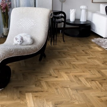Woodland Classics Natural Oil Brushed Herringbone