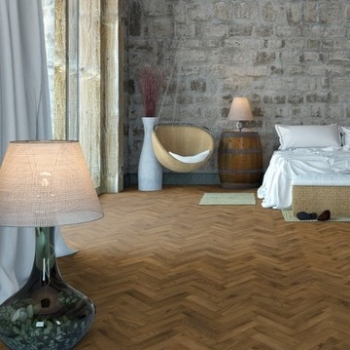 Woodland Classics Smoked Brushed & Oiled Herringbone