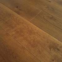 Woodland Robusta Smoked Old Brown Brushed & Oiled Engineered Oak
