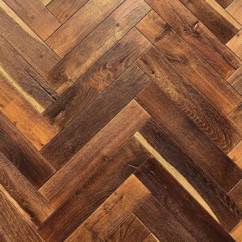 Woodland Vintage Carbon Antique Brushed & Oiled Herringbone