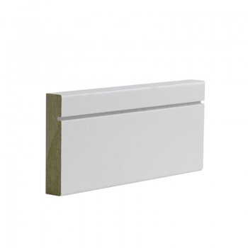 Deanta Shaker Style White Primed Architrave Sets