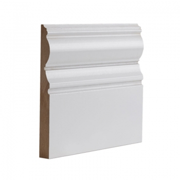 Deanta Half Victoriana White Primed Skirting Board 14.4 Lmt Pack