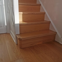 Solid Oak Stair-Step Nosing 4 Different designs