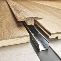 Kahrs Solid Oak T Moulding Floor Trim Any Colour To Match