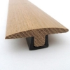 Solid Oak T Section Flooring Trim 990mm 2000mm And 3000mm