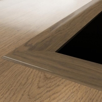 Kahrs Solid Oak Reducer Moulding Floor Trim Any Colour To Match