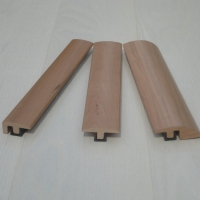 Solid Cherry Wood Flooring Trims 990-3000mm