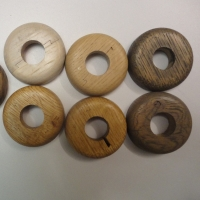 Oak Radiator Pipe Covers