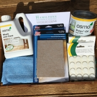 Osmo oil and After Care Hamper for oiled floors
