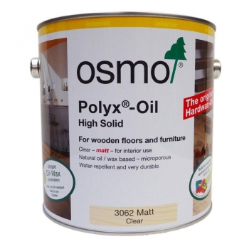 Osmo Polyx Hardwax Oil Matt 3062 2.5 Ltr
