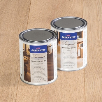 Quick-step Maintenance Oil Transparent Or White 1 Litre Tin