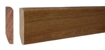 Solid Oak Rounded skirting board from £6.90plm