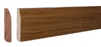 Solid Oak Chamfered skirting board from £6.90plm