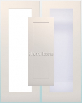 Deanta White Denver Solid Panel Doors And Glazed Doors
