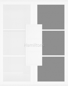 Deanta White Camden Solid Panel And Glazed Doors