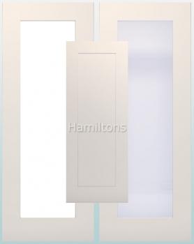 Deanta White Denver Solid Panel And Glazed Doors