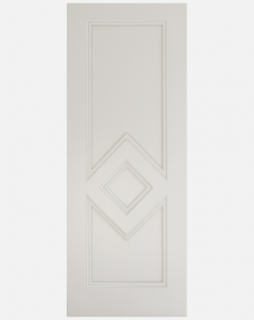 Deanta White Ascot Solid Panel Doors