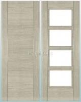Deanta Montreal Light Grey Ash Standard Doors and FD30 Fire Doors