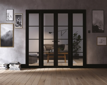 LPD Soho W8 French Door Pair With Sidelights And Frame