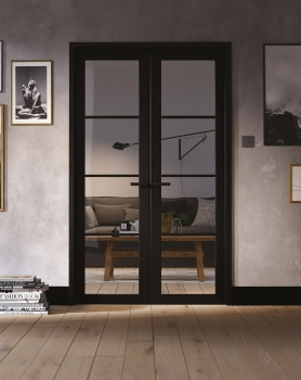 LPD Soho W4 French Door Pair With Frame