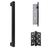 LPD Sullivan Pull Handles Latch And 3 Hinge Packs | Privacy Latch