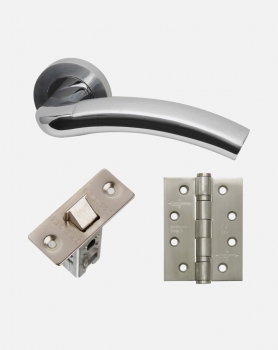 LPD Jupiter Handles, Latch And 3 Hinge Packs | Optional Privacy Latch