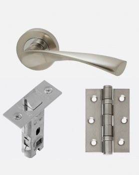 LPD Solar Handles, Latch And 2 Hinge Packs | Optional Privacy Latch