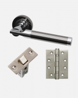 LPD Vega Handles, Latch And 3 Hinge Packs | Optional Privacy Latch