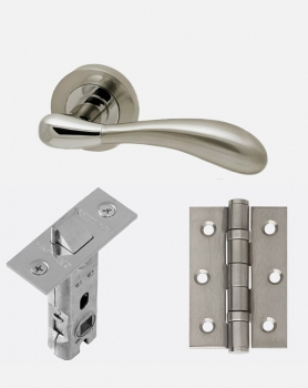 LPD Venus Handles, Latch And 2 Hinge Packs | Optional Privacy Latch