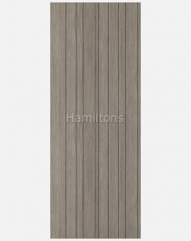 LPD Laminate. Montreal Light Grey Panel Doors