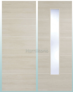 LPD Laminate. Santandor Ivory Panel Doors And Glazed Doors