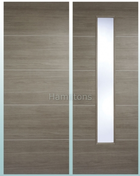 LPD Laminate. Santandor Light Grey. Panel Doors And Glazed Doors