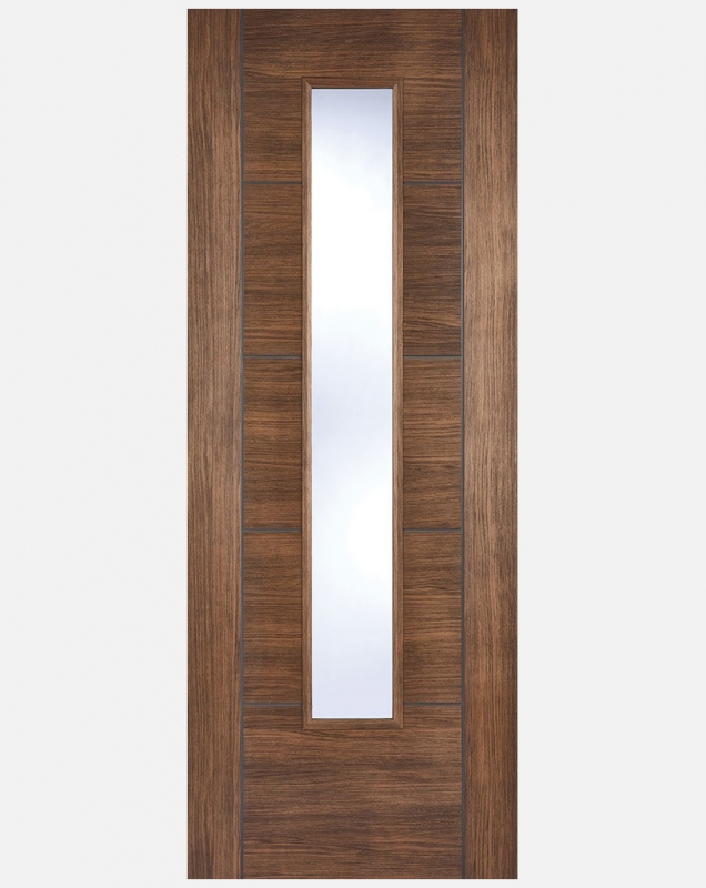 Lpd Laminate Vancouver Walnut Panelled And Glazed Doors