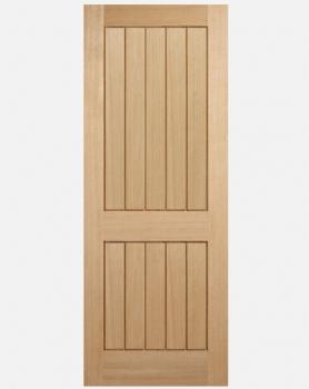 LPD Oak Mexicano 2 Panel Standard Doors And Fire Doors