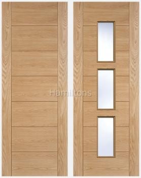 LPD Oak Hampshire Panel Doors And Glazed Doors