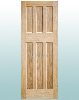 LPD Oak DX60S Shaker Solid Panel Doors