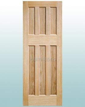 LPD Oak DX60 Shaker Solid Panel Doors