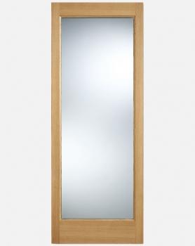 LPD Oak Pattern 10 Clear Or Obscure Glazed Doors