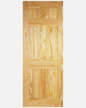 LPD Clear Pine 6 Panel Standard Doors