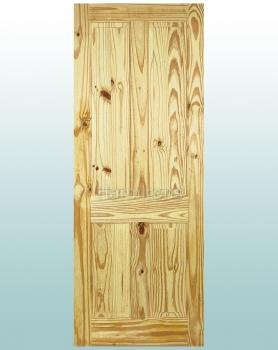 LPD 4 Panel Knotty Pine Standard Doors