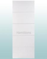 LPD White Horizontal 4 Line Panel Doors
