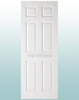 LPD White Textured 6 Panel Doors