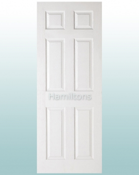 LPD White Textured 6 Panel Doors