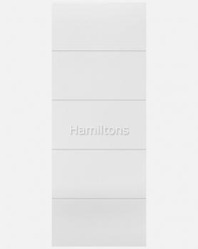 LPD White Santandor 5 Panel Doors